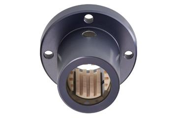 drylin® Q linear plain bearing with round flange