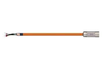 readycable® motor cable suitable for Jetter Cable No. 26.1, base cable, PUR 7.5 x d