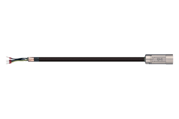 readycable® motor cable suitable for Jetter Cable No. 26.1, base cable, PVC 7.5 x d