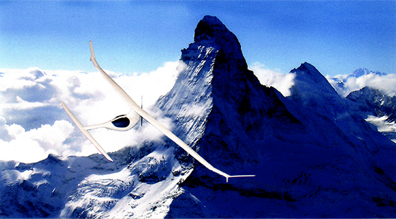 Electric motor glider